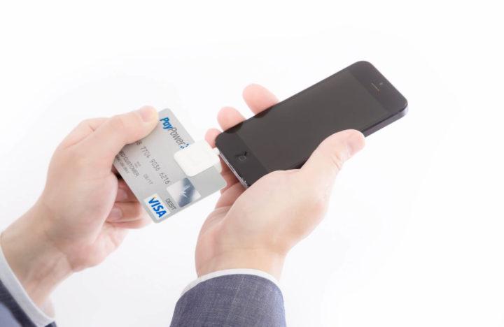 クレジットカードのスキャン画像