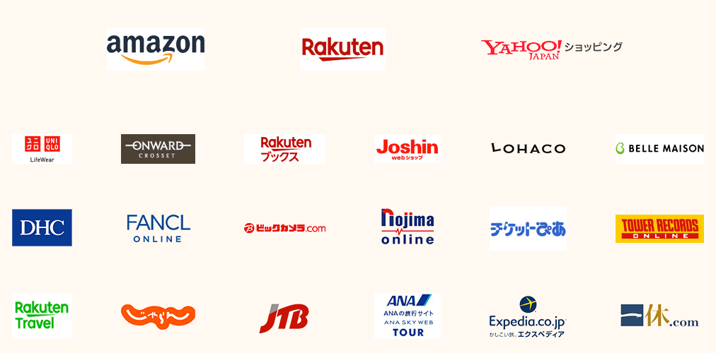 OkiDokiポイント提携会社一覧