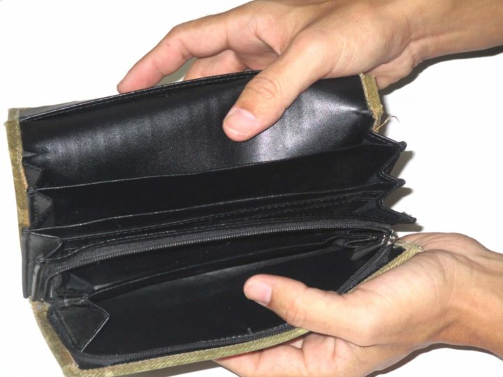 現金を持ち合わせていないときでも物が買える