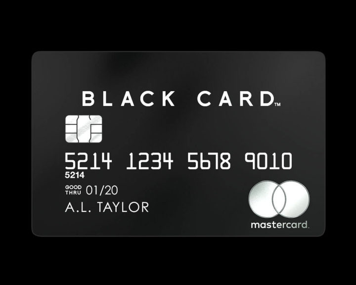 LUXURY CARD Black Card